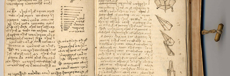 Leonardo da Vinci's Notebooks Available Online