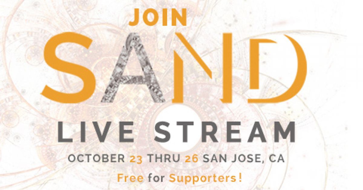 SAND14 Live Stream: Join Us Virtually - SAND